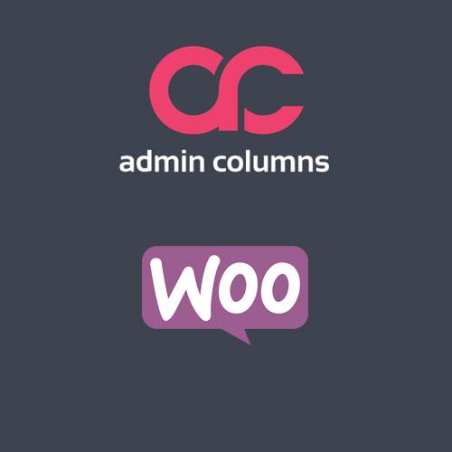 Admin Columns Pro WooCommerce Columns