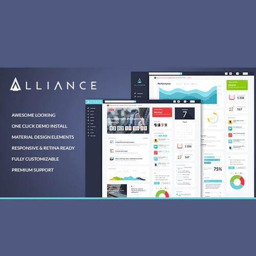 Alliance Intranet Extranet WordPress Theme