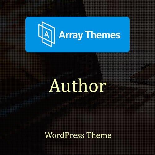 Array Themes Author WordPress Theme