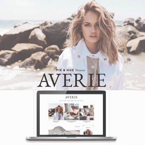 Averie A Blog Shop Theme