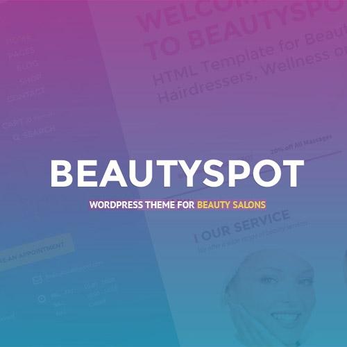 BeautySpot WordPress Theme for Beauty Salons