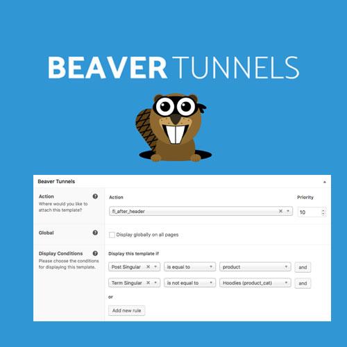 Beaver Tunnels Addon 4
