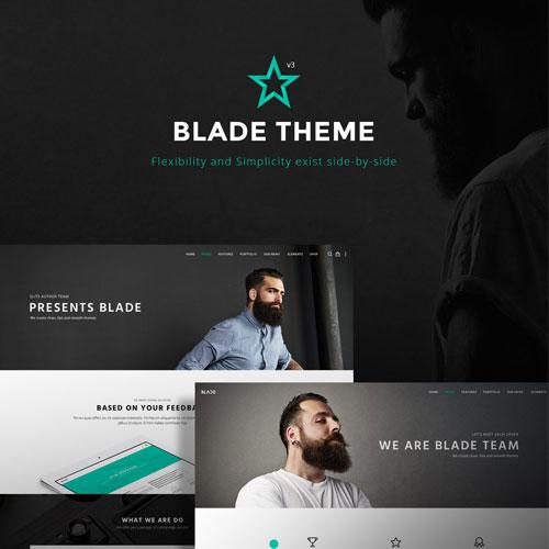 Blade Responsive Multi Functional Theme