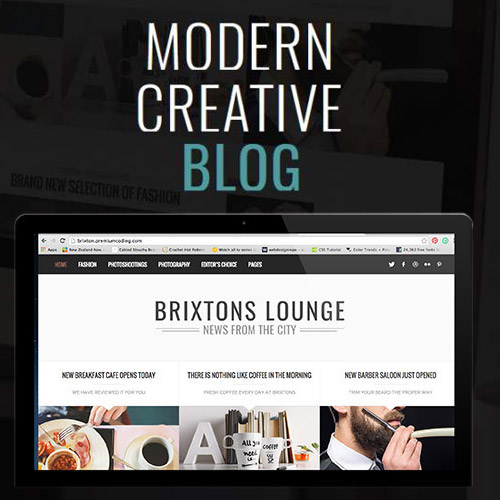 Brixton Blog A Responsive WordPress Blog Theme
