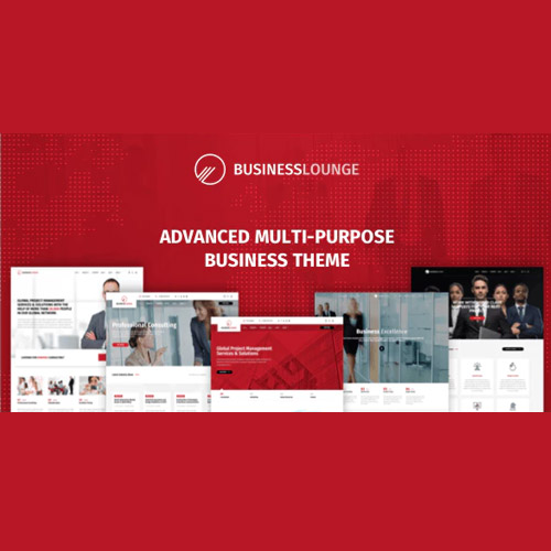 Business Lounge Multi Purpose Consulting Finance Theme