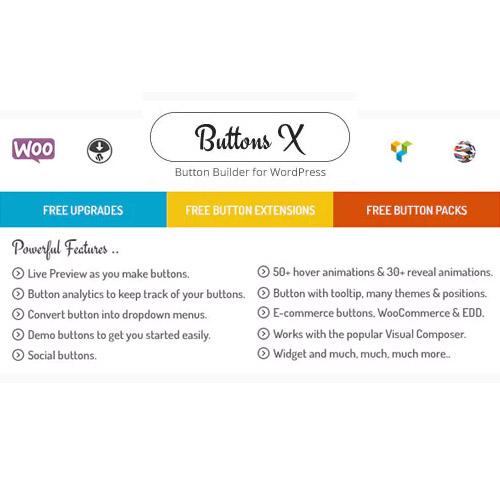 Buttons X Powerful Button Builder for WordPress