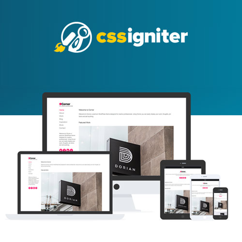 CSS Igniter Corner WordPress Theme