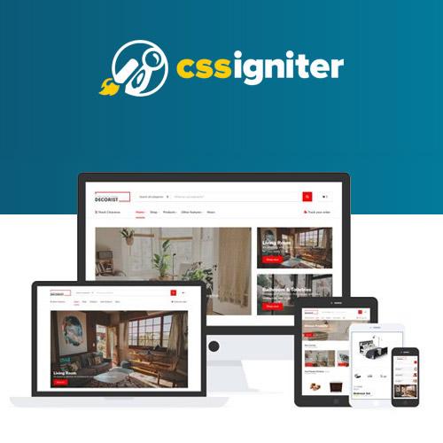 CSS Igniter Decorist Theme