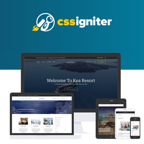 CSS Igniter Kea Hotel Theme