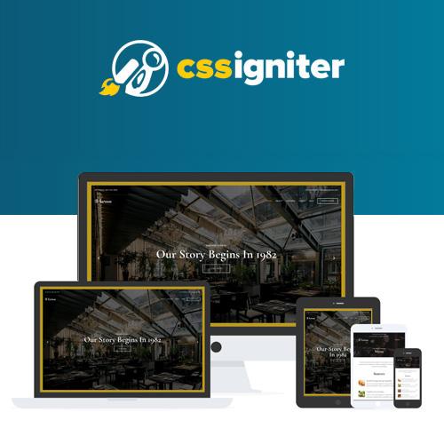 CSS Igniter Korina WordPress Theme