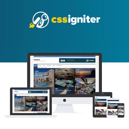CSS Igniter Neuton WordPress Theme