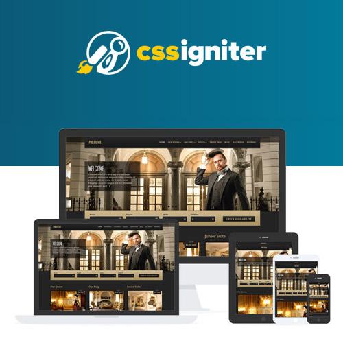 CSS Igniter Philoxenia WordPress Theme