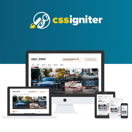 CSS Igniter Public Opinion Magazine Theme