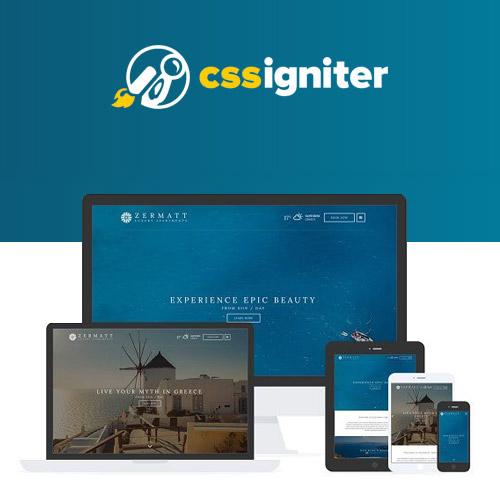 CSS Igniter Zermatt WordPress Theme