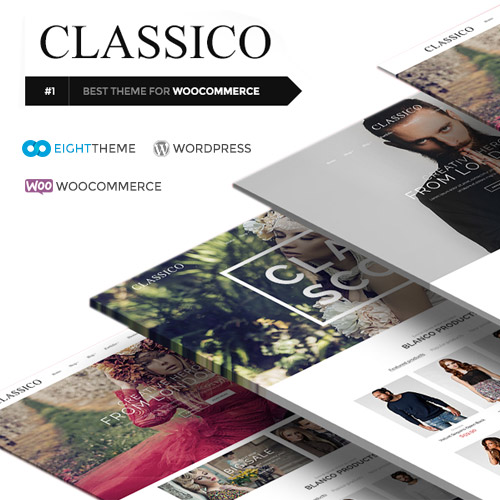 Classico Responsive WooCommerce WordPress Theme