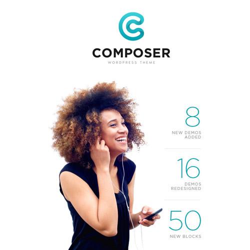 Composer Responsive Multi Purpose High Performance WordPress Theme