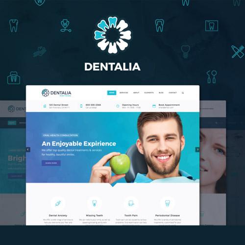 Dentalia Dentist Medical WordPress Theme