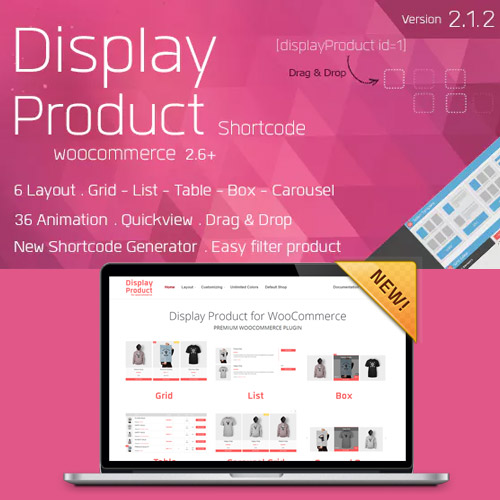 Display Product Multi Layout for WooCommerce