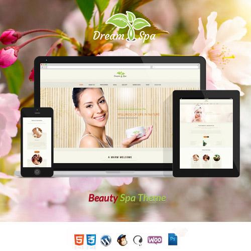 Dream Spa Salon Spa WordPress Theme