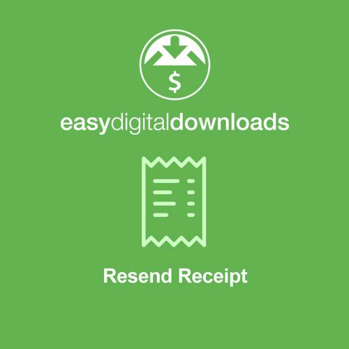 Easy Digital Downloads Resend Receipt
