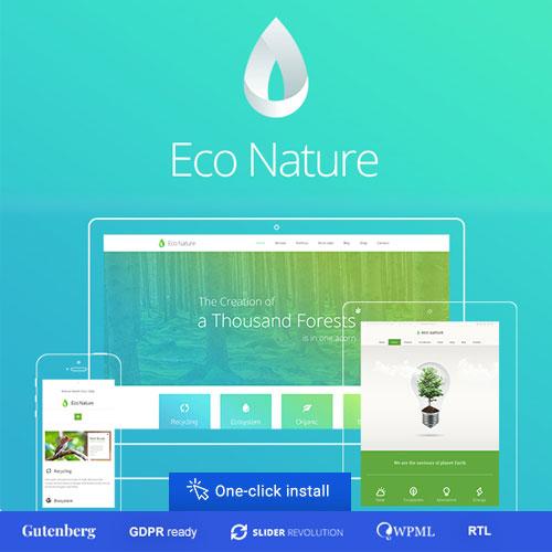 Eco Nature Environment Ecology WordPress Theme