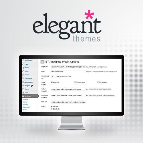 Elegant Themes Anticipate WordPress Plugin