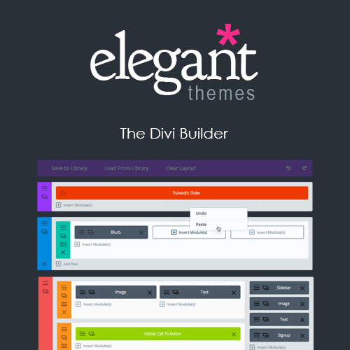 Elegant Themes The Divi Builder