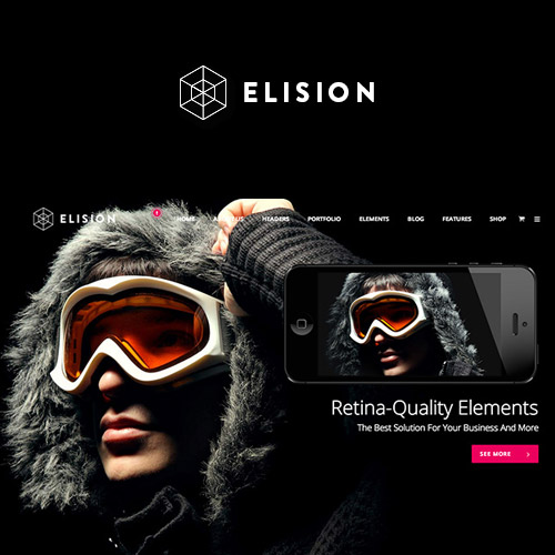 Elision Retina Multi Purpose WordPress Theme