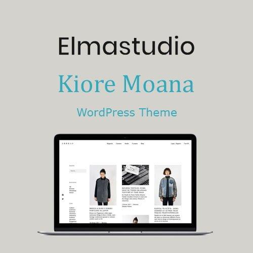 ElmaStudio Kiore Moana WordPress Theme