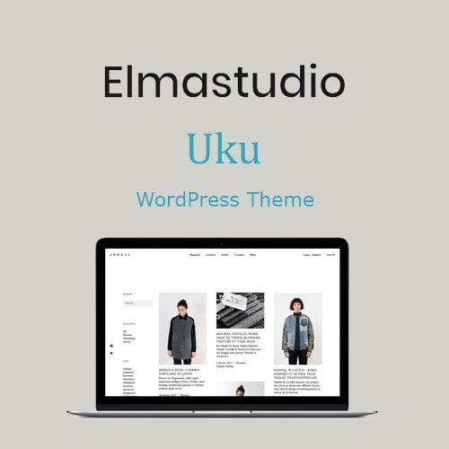 ElmaStudio Uku WordPress Theme