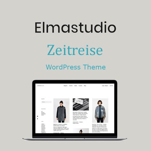 ElmaStudio Zeitreise WordPress Theme