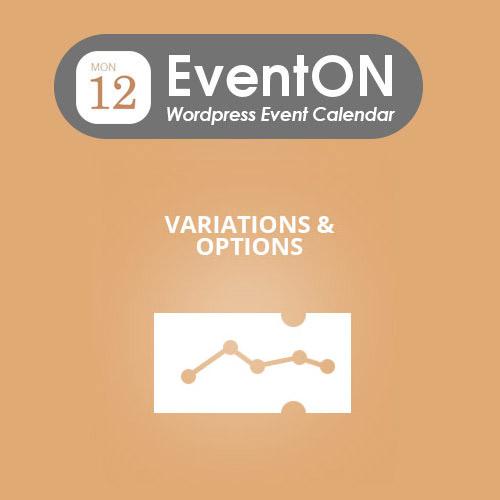 EventON Ticket Variations Options