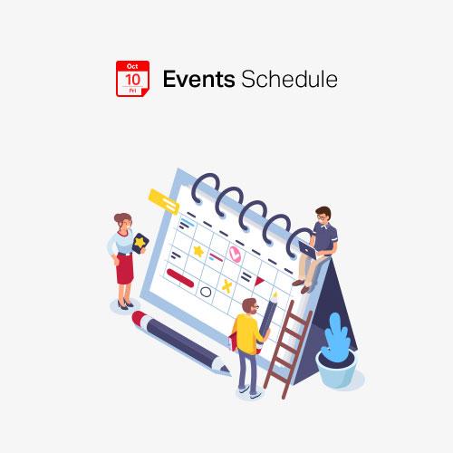 Events Schedule WP Plugin