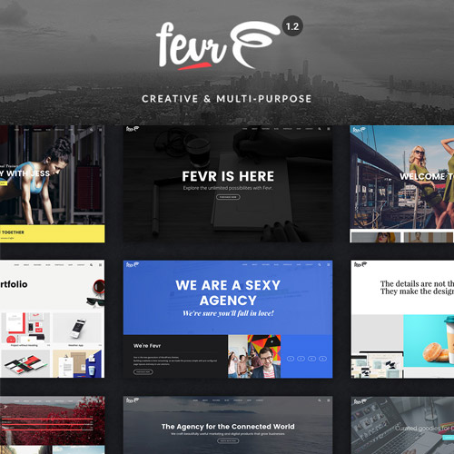Fevr Creative MultiPurpose Theme
