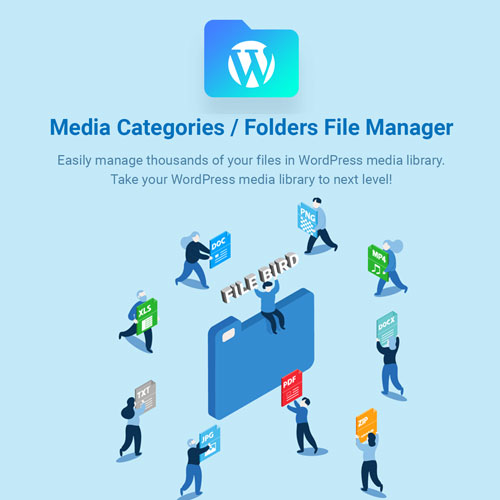 FileBird WordPress Media Library Folders