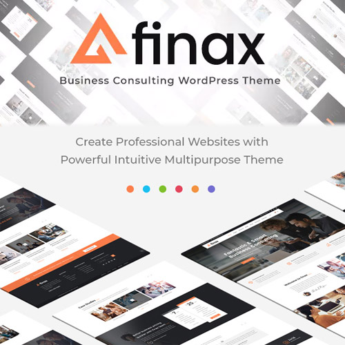 Finax Responsive Business Consulting WordPress Theme