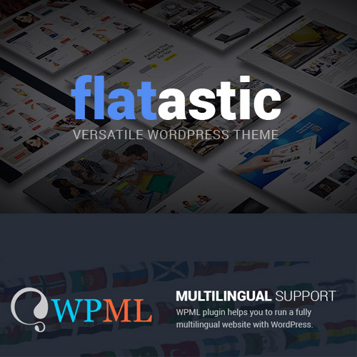Flatastic Versatile Multi Vendor WordPress Theme