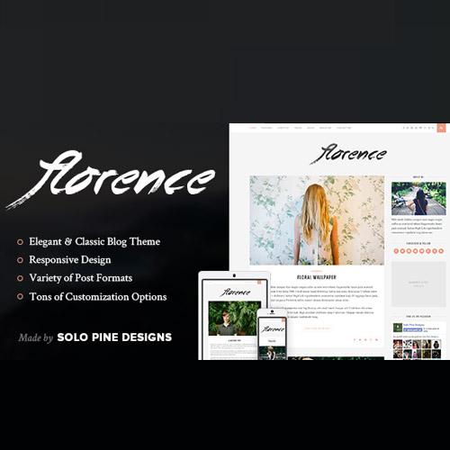 Florence A Responsive WordPress Blog Theme