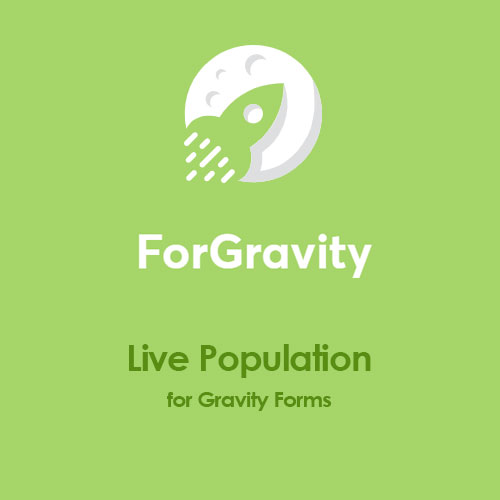 ForGravity Live Population for Gravity Forms