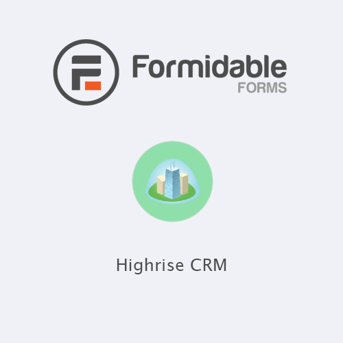 Formidable Forms Highrise CRM