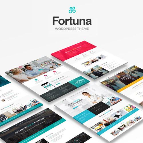 Fortuna Responsive Multi Purpose WordPress Theme