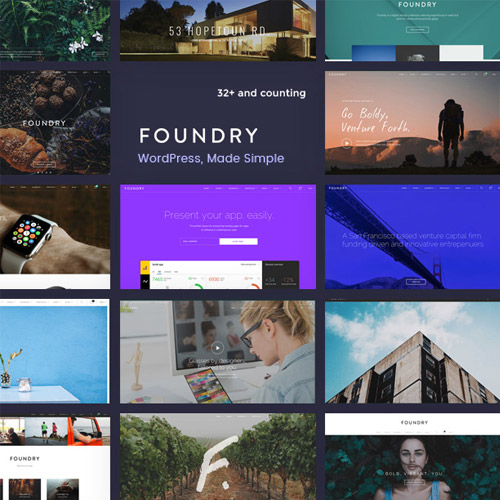 Foundry Multipurpose Multi Concept WP Theme