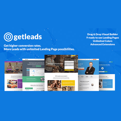 Getleads High Performance Landing Page WordPress Theme