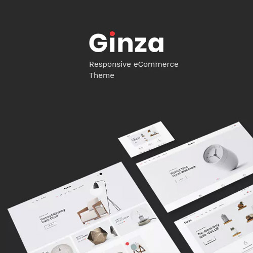 Ginza Furniture Theme for WooCommerce WordPress