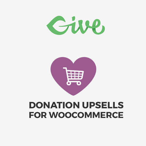 Give Donation Upsells for WooCommerce