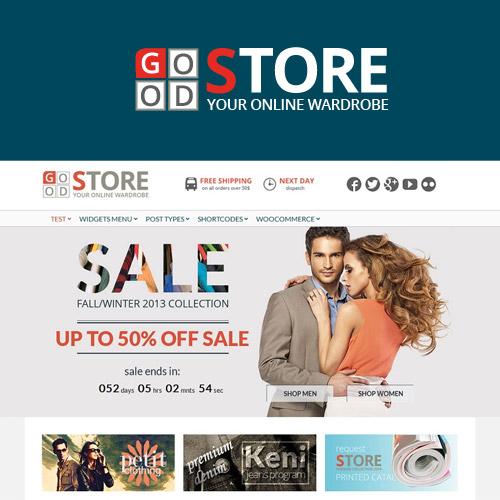GoodStore WooCommerce Theme