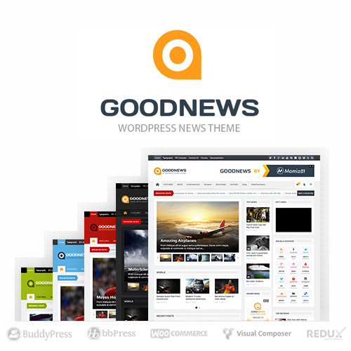Goodnews Responsive WordPress News Magazine