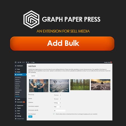 Graph Paper Press Sell Media Add Bulk