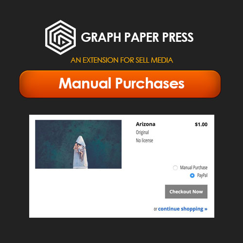Graph Paper Press Sell Media Manual Purchases