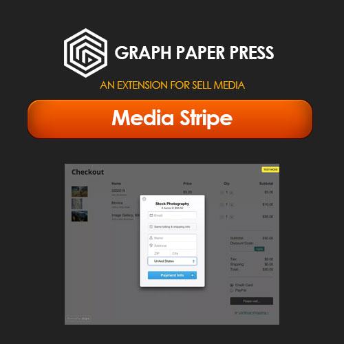 Graph Paper Press Sell Media Stripe